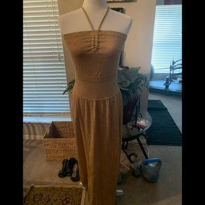 BCBG halter dress